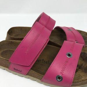 Birkenstock Shoes - Betula Birkenstock Pink Slip On Sandals 7